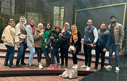 Political Mass Media Students Visit to DMC